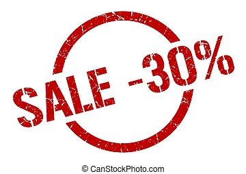 切手, セール, -30%