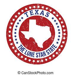 切手, テキサス