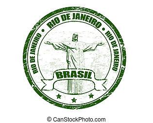 切手, リオデジャネイロ