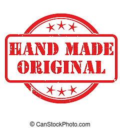 切手, 作られた, 手