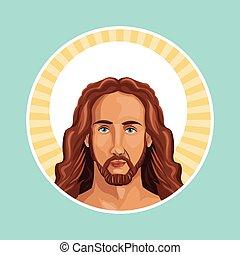 切手, 肖像画, キリスト, イエス・キリスト