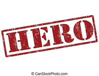 切手, 英雄