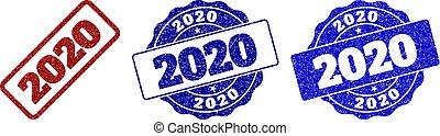 切手, 2020, グランジ, シール