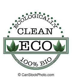 切手, ecologically, きれいにしなさい