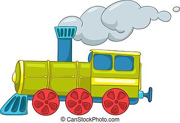 列車, 漫画
