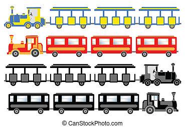 列車, 観光