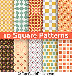 別, 広場, seamless, パターン, ベクトル, (tiling).