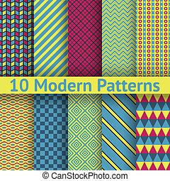 別, 現代, seamless, (tiling), パターン, ベクトル