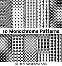 別, seamless, (tiling), パターン, ベクトル, モノクローム