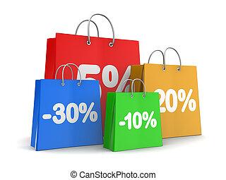 割引, 買い物
