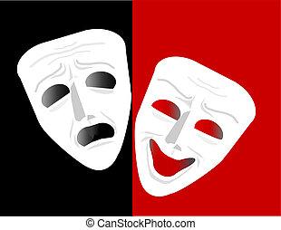 劇場の マスク
