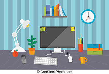 労働者のオフィス, スペース