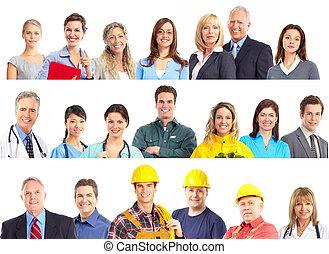 労働者, 人々