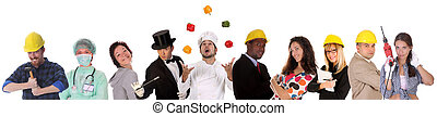 労働者, 多様性