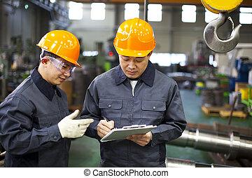 労働者, 工場