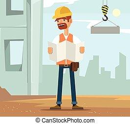 労働者, 建築者, 特徴, 人