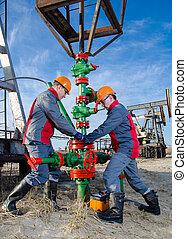 労働者, oilfield