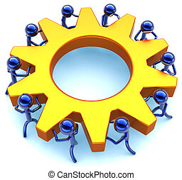 効率, チームワーク, ビジネス