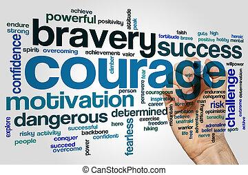 勇気, 単語, 雲