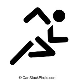 動くこと, スポーツの記号
