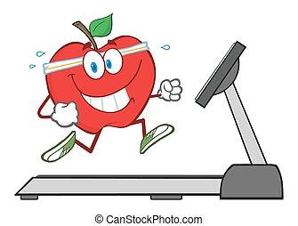 動くこと, 赤いリンゴ, 健康