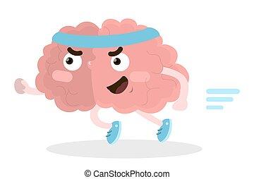 動くこと, brain., 隔離された