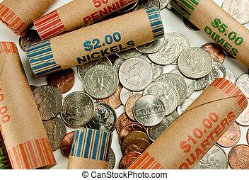 包み紙, コイン