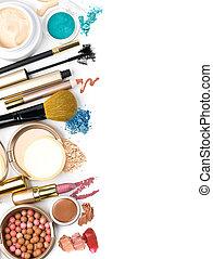化粧品, 構造の ブラシ