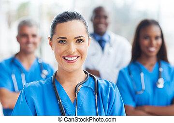 医学, 同僚, 看護婦
