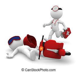 医学, 隔離しなさい, 緊急事態, services.