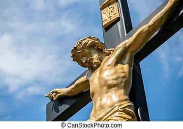 十字架像, イエス・キリスト