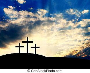 十字, キリスト教徒, 丘