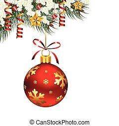 単一, 装飾, クリスマス