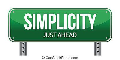 単純さ, 道 印