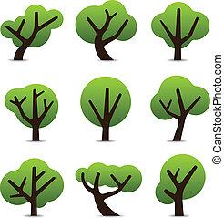 単純である, 木, アイコン