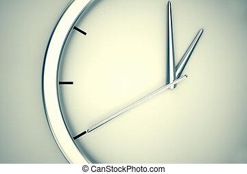 単純である, 現代, clock.