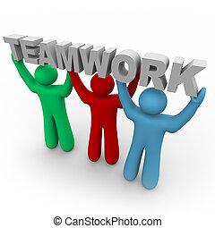単語, 人々, -, 3, チームワーク, 把握