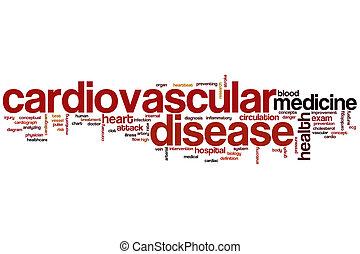 単語, 病気, 雲, 心臓血管である
