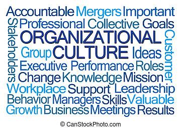 単語, 雲, 組織, 文化