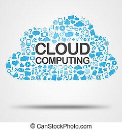 単語, 雲, 計算