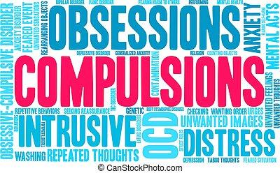 単語, 雲, compulsions