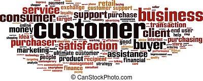 単語, customer-horizon, 雲