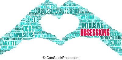 単語, obsessions, 雲