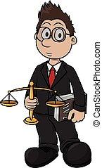 印刷, 漫画, イラスト, 弁護士