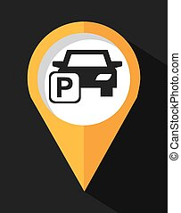 印, 駐車