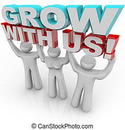 参加しなさい, 個人的, -, 私達, 成長, グループ, 成長しなさい