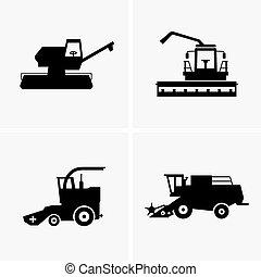 収穫機, コンバイン