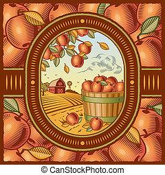 収穫, アップル