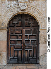 古い, 代表団, ドア, スペイン語