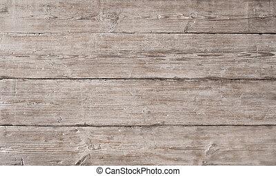 古い, 木製である, ライト, 木穀粒, 板, 背景, 繊維, しまのある, 板, 手ざわり